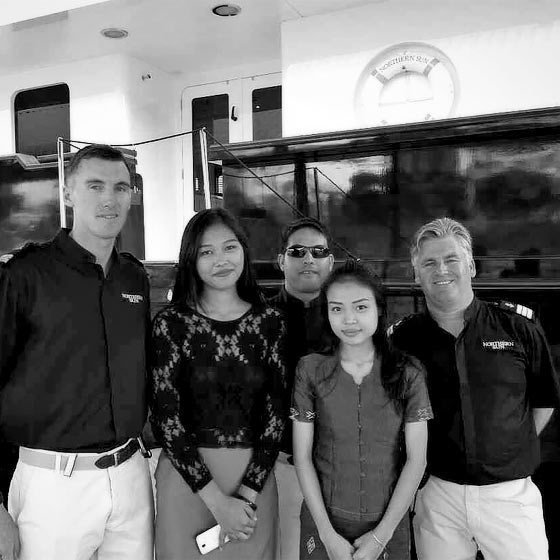 The Seal Superyachts Myanmar Team. The Superyacht Agency for Myanmar.