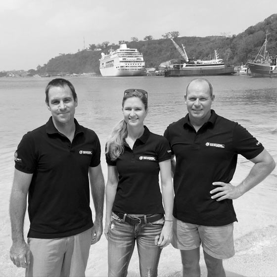 The Seal Superyachts Vanuatu Team. The Superyacht Agency for Vanuatu.