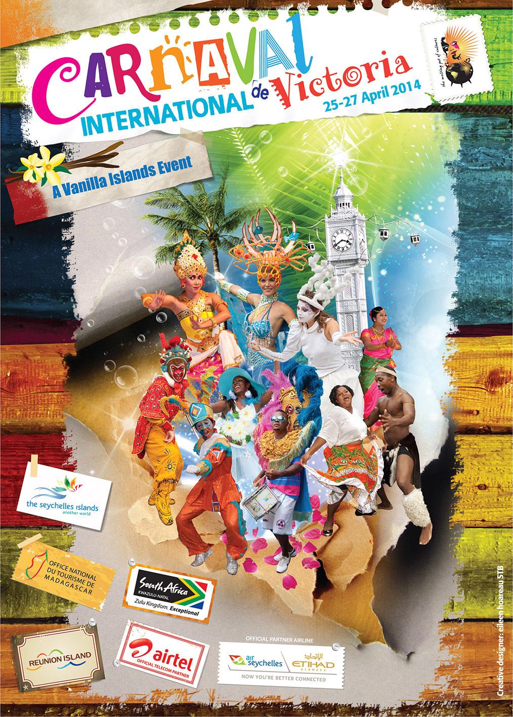 Seychelles Carnaval 2014 Superyacht Agent Yacht Agency