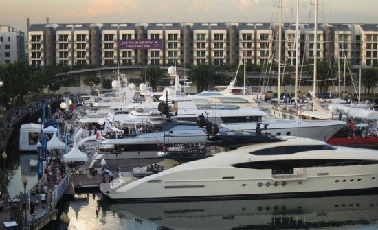 Seal Superyachts Singapore Yacht Show 2014