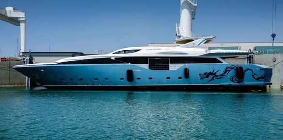 Admiral Yachts Italian Flying Dragon Superyacht