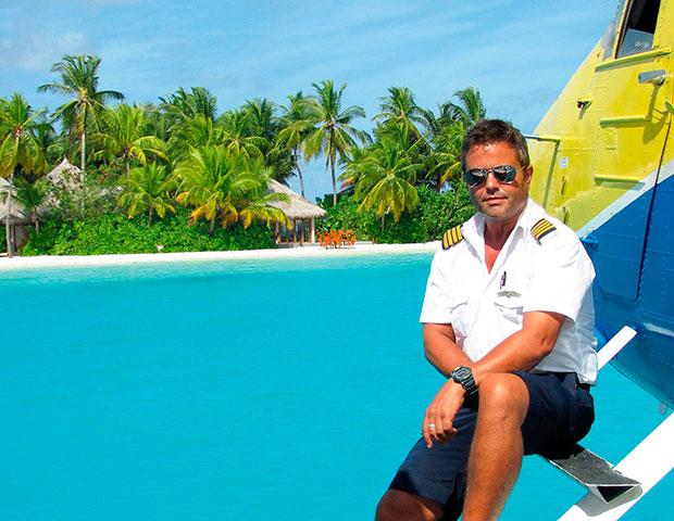 Andrew Farr Maldives Sea Plane Superyacht Agent