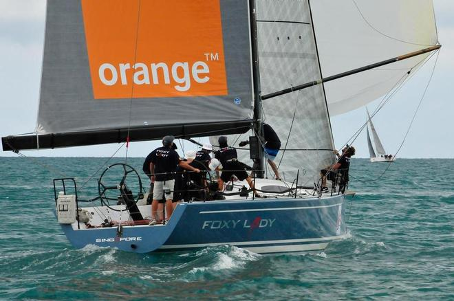 Foxy Lady 6 Wins Samui Regatta 2014
