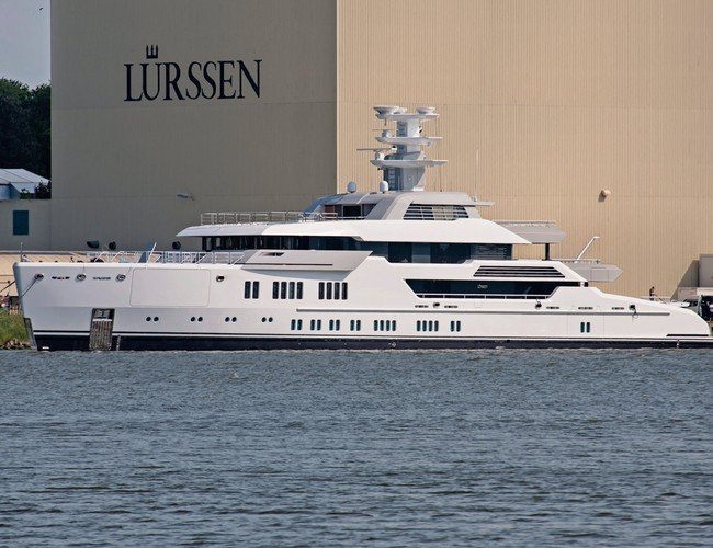 Lürssen Launches 66m Green Superyacht