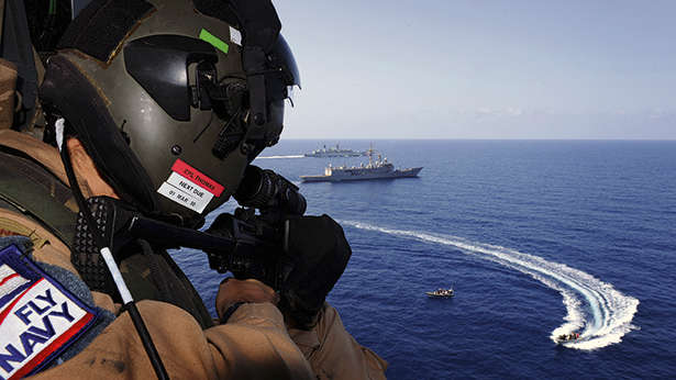 Superyacht Security Helicopter Navy Escort Piracy