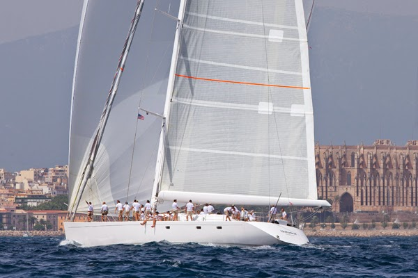 Unfurled Palma Claire Matches The Superyacht Cup