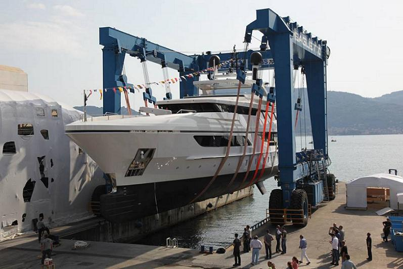 Baglietto 46 metre Megayacht Superyacht New Launched