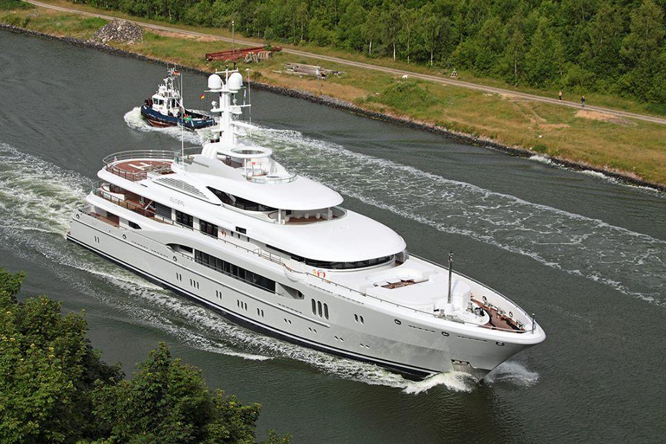 Lurssen Shipyards MY Kismet Refit Seal Superyachts