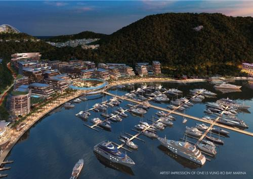 ONE°15 Marina Club Vung Ro Bay Resort Seal Superyachts Vietnam