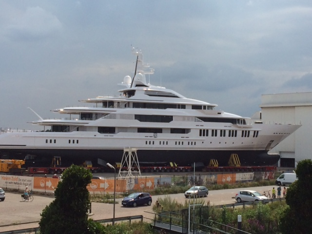 Oceanco launches 88.5M superyacht Y710