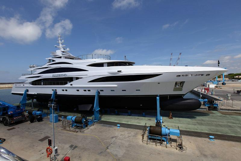 Benetti Launches 58M Superyacht Illusion I Yacht Agent Seal Superyachts