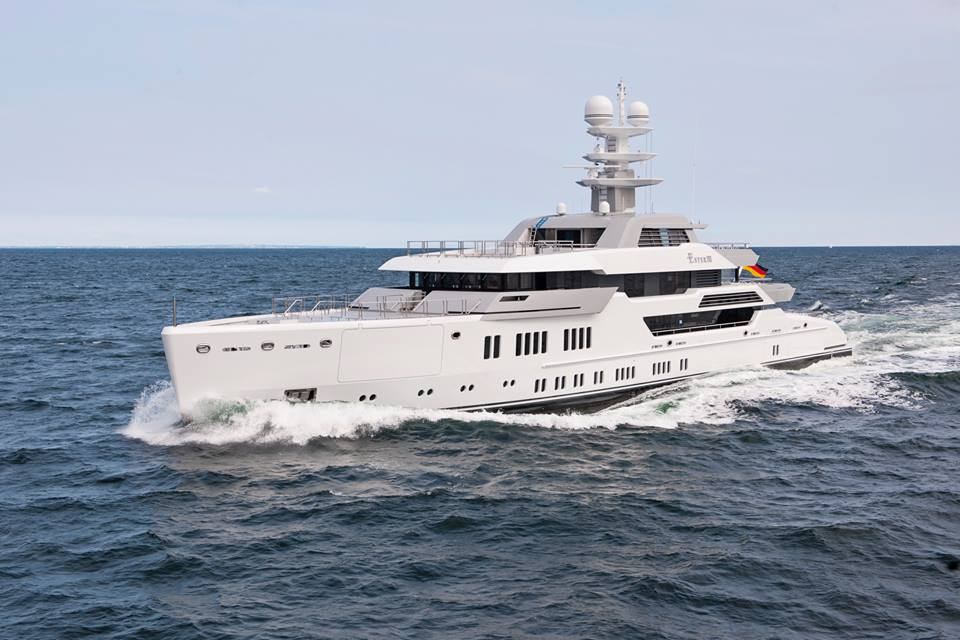 Lürssen Project Green Baltic Yacht Agent Seal Superyachts