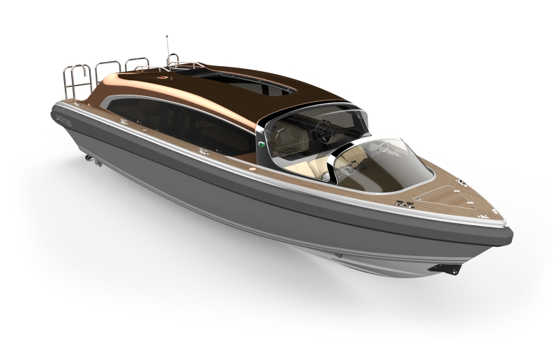 Novurania Custom One 31 Tender Seal Superyachts Yacht Agents