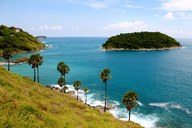 Phuket's west coast.  Photo by Adam Frost/Seal Superyachts