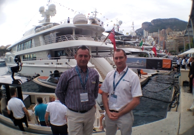 Adam Frost Alastair Maiden Seal Superyachts MYS 2014