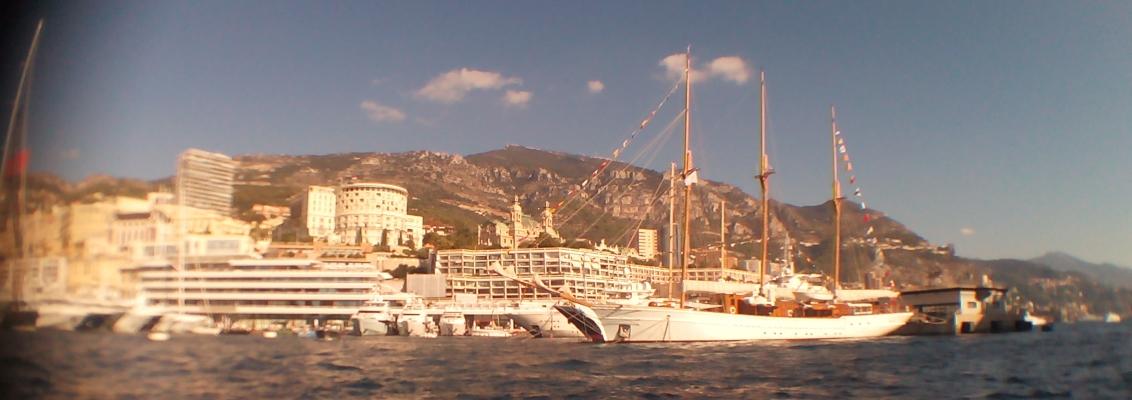 Monaco Yacht Show 2014 scene crop