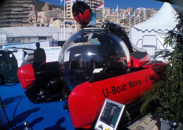 U-boat Worx C Explore Monaco Yacht Show 2014
