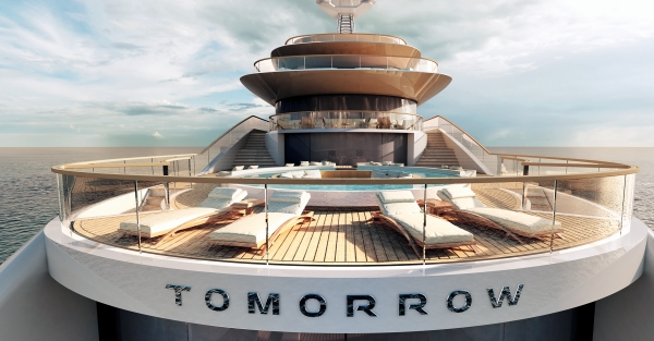 Tomorrow Pool Pride Megayachts Seal Superyachts