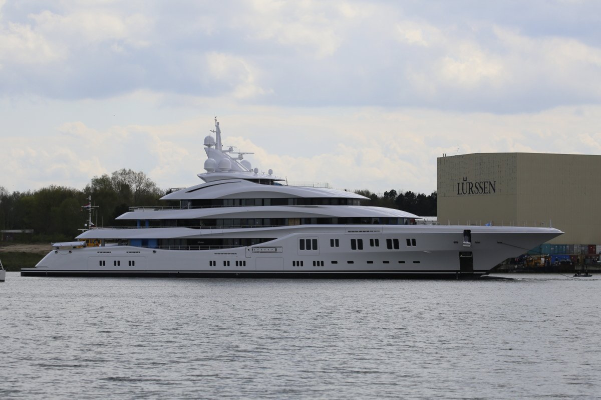 Seal Superyachts superyachts.com news Lürssen Project Orchid Launch