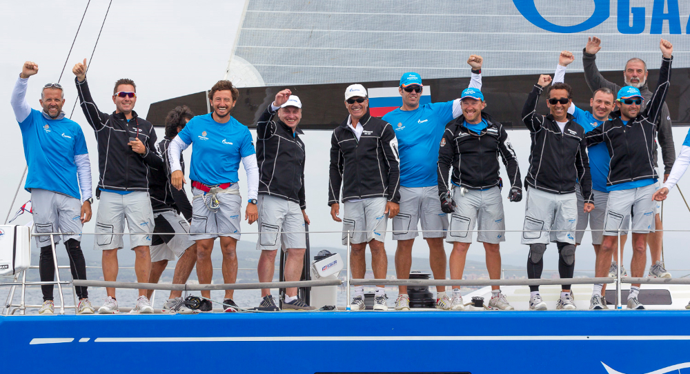 2015 Gazprom Swan 60 World Championship Seal Superyachts 2