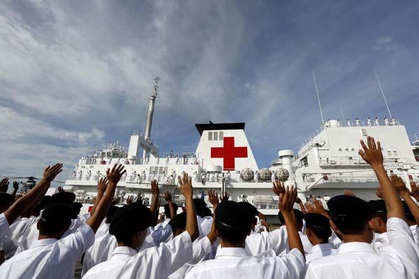 Peace Ark Yangon Myanmar Seal Superyachts Burma Yacht Agents