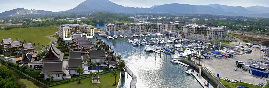 Royal Phuket Marina Thailand Yacht Agents Seal Superyachts