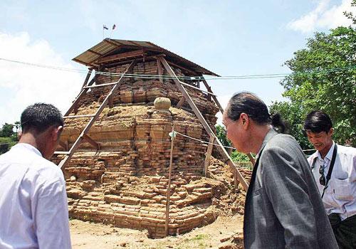 Thai King tomb