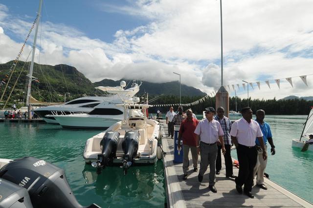 Seychelles Yacht Agents Boat Show Eden Island 2015