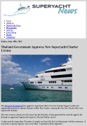 Thailand New Superyacht Charter License_The Howorths