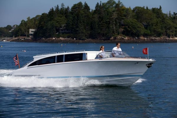 Hodgdon Superyacht Limousine Tender MYS2015