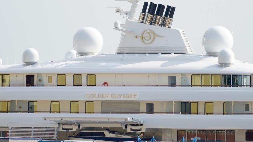 Golden Odyssey Lürssen New Superyacht