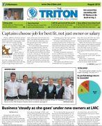 Triton August 2015 Superyacht Yacht Agent