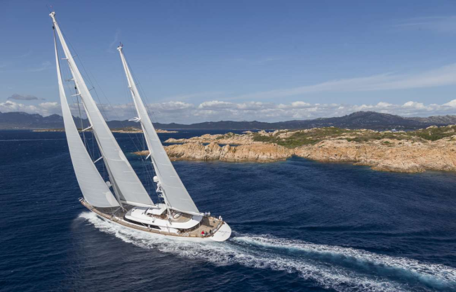 Perini Navi Cup 2015 Superyacht Rosehearty