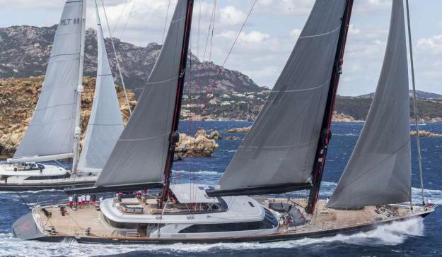 Perini Navi Cup 2015 Superyacht Seahawk Clan VIII