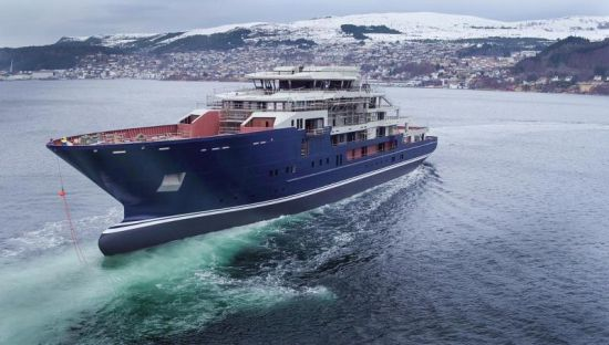 Kleven_Superyacht_Launch_Norway_1