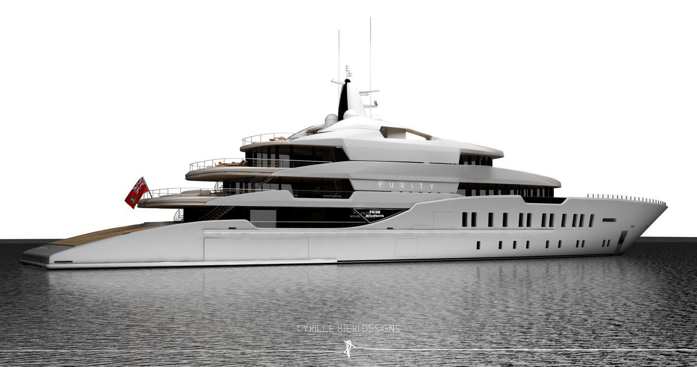 Pride Megayachts PURITY Monaco MYS2016-1