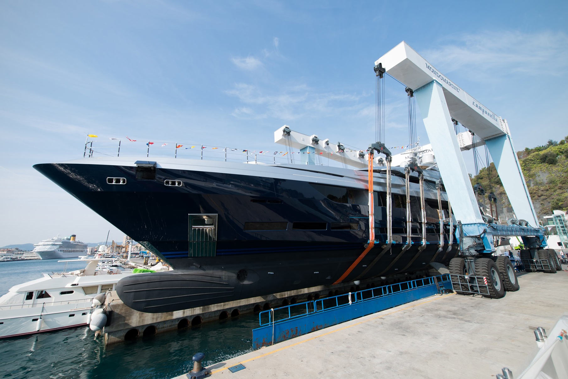 Mondomarine launches of its largest yacht