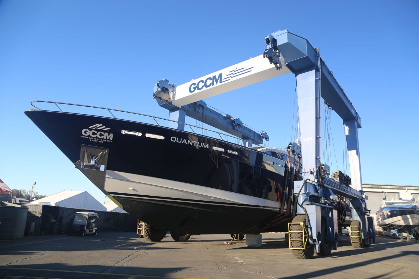 GCCM Seal Superyachts Australia Boatlift