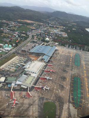 Phuket Airport aerial