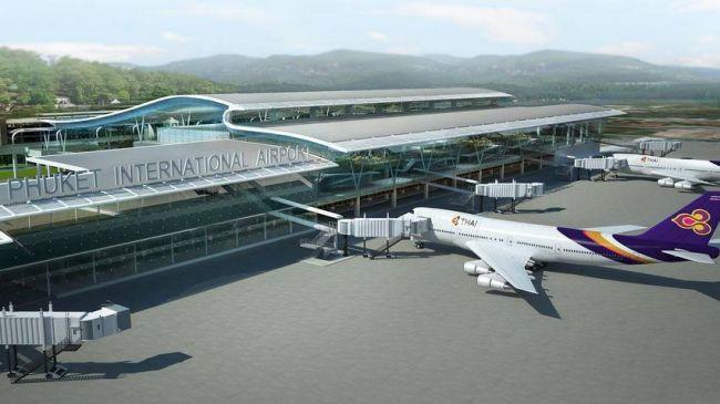 Rendering of new Phuket Airport