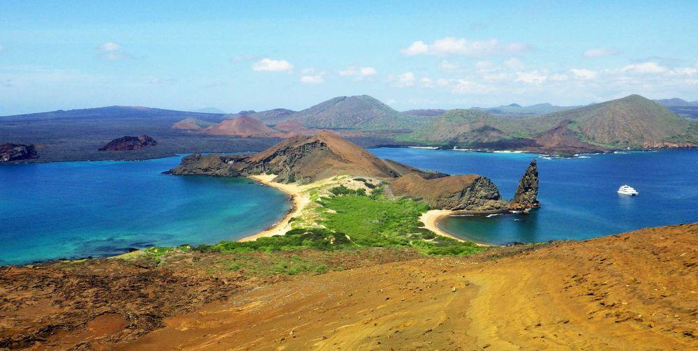 Bartolomé Island Scene Galapagos Islands