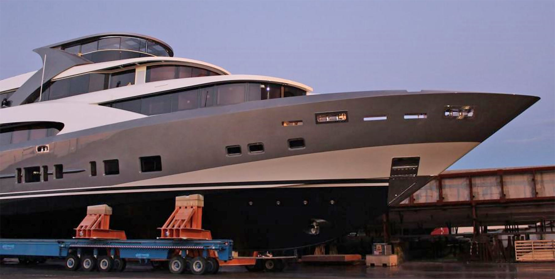The 44m superyacht '4400 Fast Fly' Launched by Couach Yachts