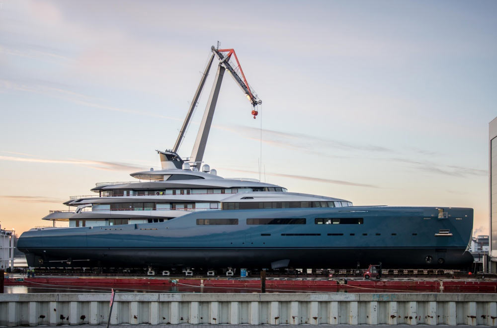 The Superyacht Aviva