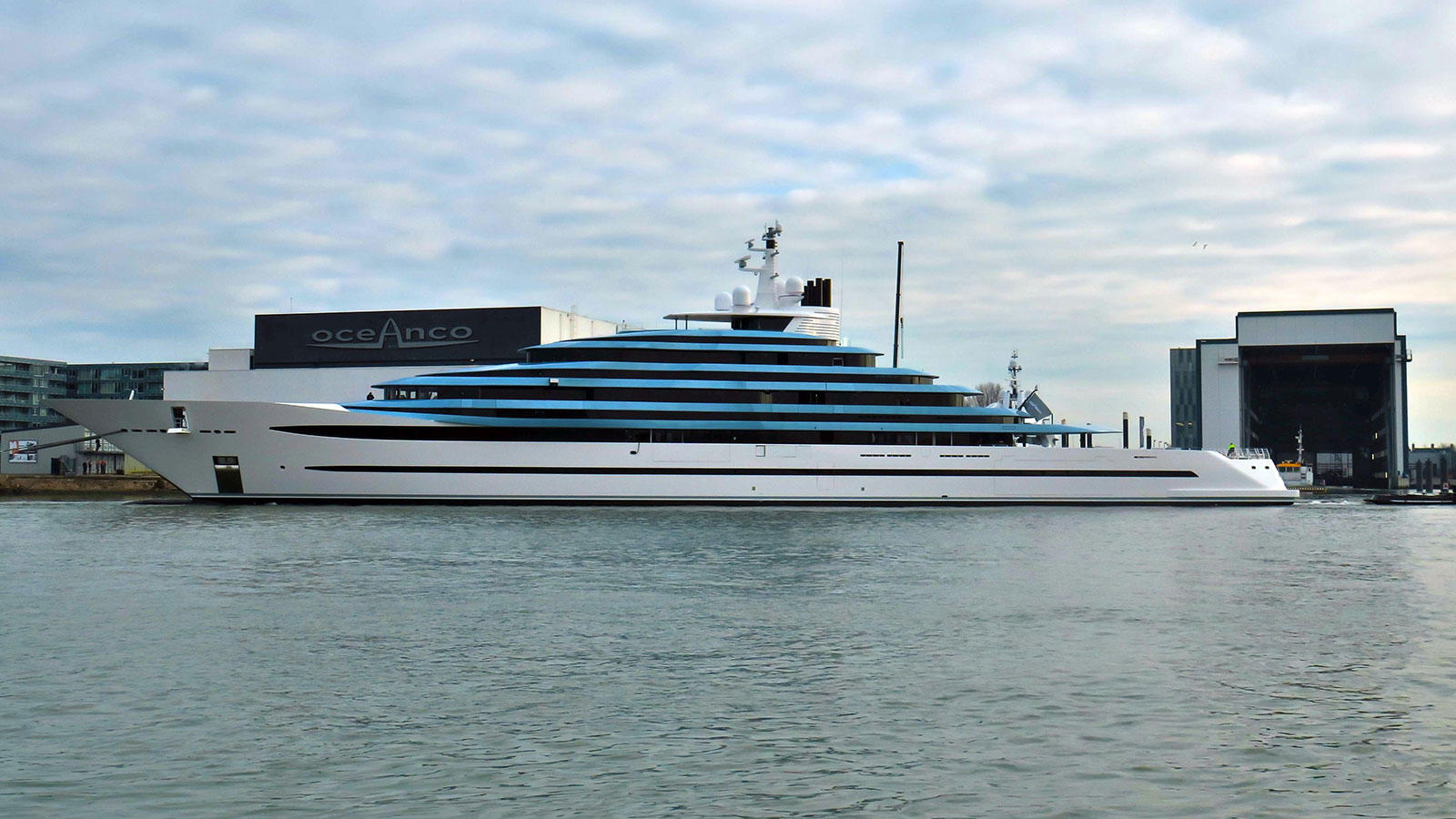 Oceanco flagship superyacht Project Jubilee
