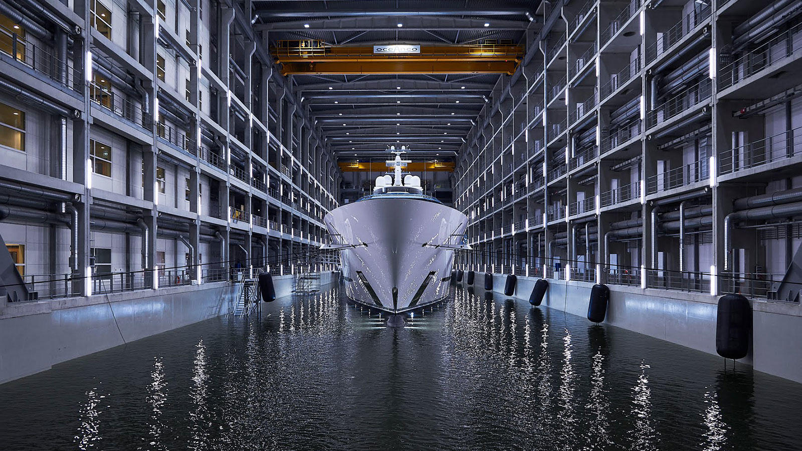 Oceanco Superyacht Project Jubilee in Shed