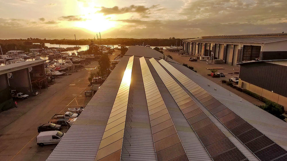 Seal Superyachts uses Solar Panels to provide environmentally friendly, sustainable power.