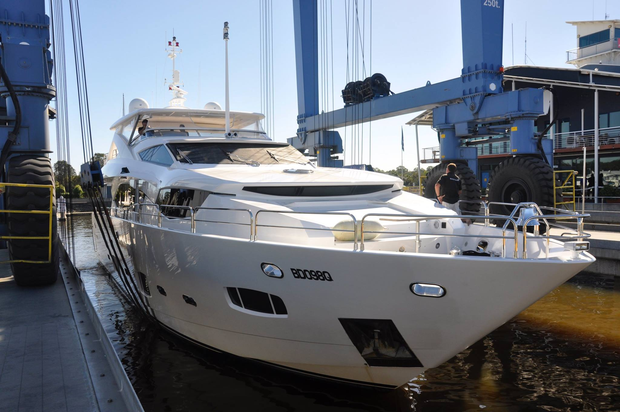 New Superyacht berths now operational and busy in Australia