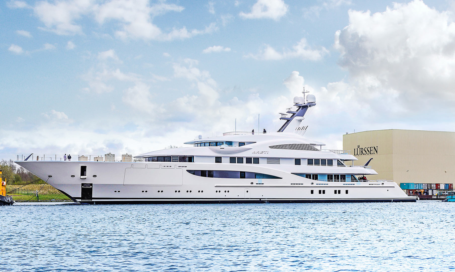 Superyacht: Project Sasha