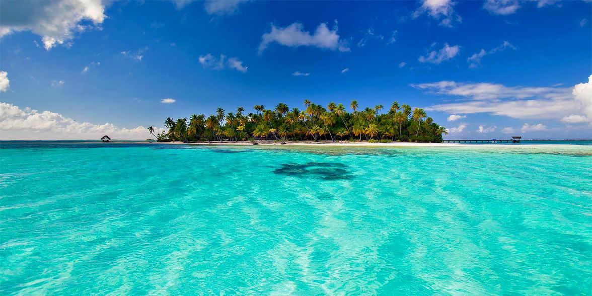 Tahiti beach Island
