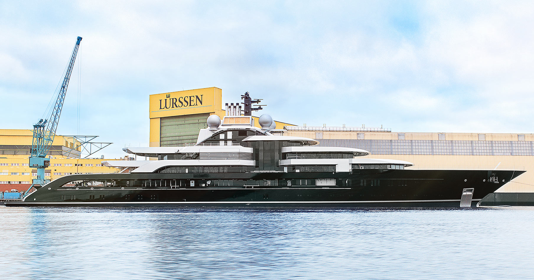 Superyacht 'Project Thunder' Launched.